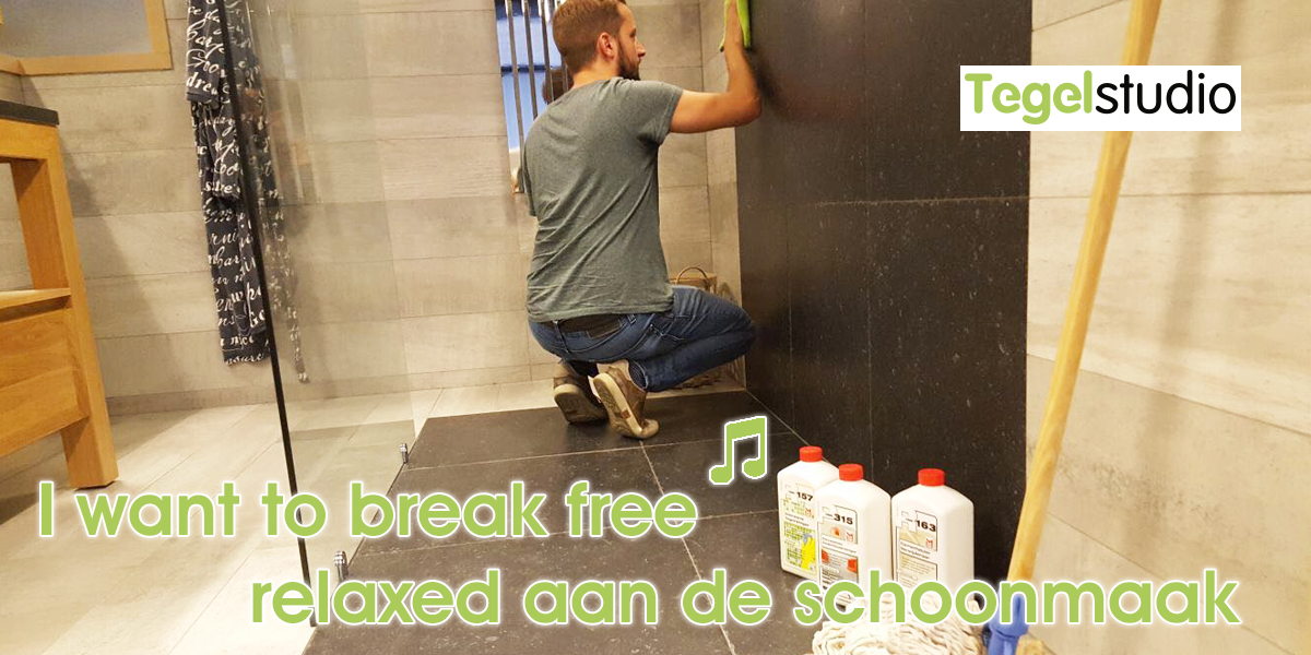 I Want to break free ♫! #relaxed aan de schoonmaak
